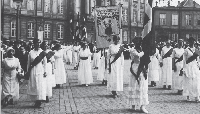 stemmeret i danmark kvinder