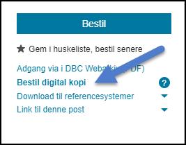 Bestil artikler med Digital Artikelservice