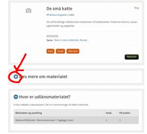 Udklip fra søgning på hjemmesiden