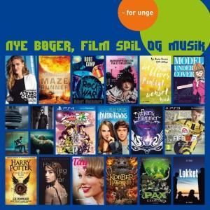 Nye bøger, film og musik for unge | Næstved Bibliotek og