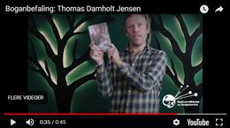 Stillbillede fra video med tre boganbefalinger af Thomas Damholt