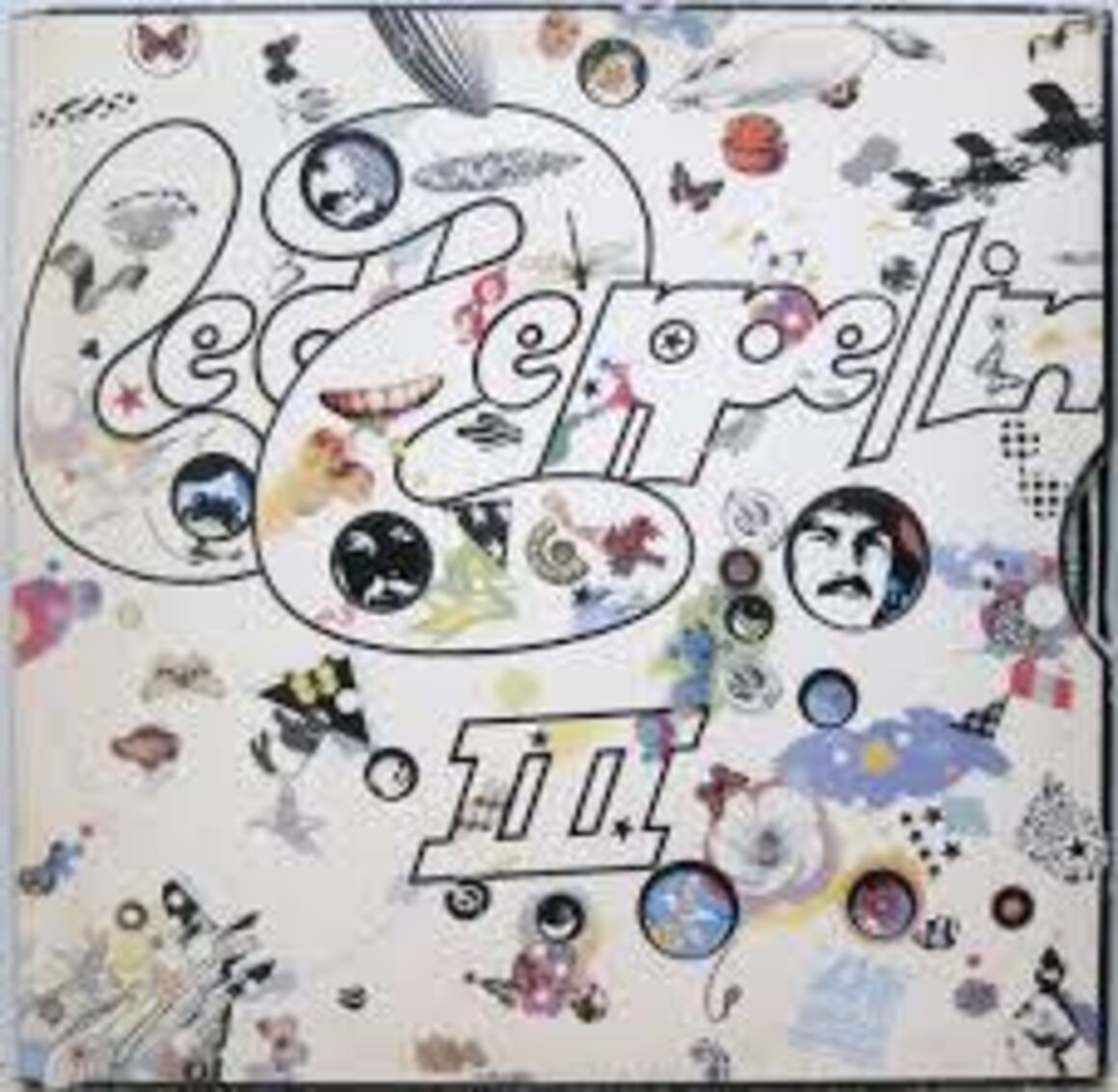 Coveret til Led Zeppelin 3