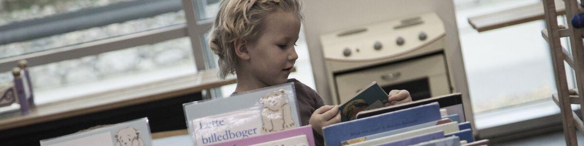 Børnebiblioteket på Næstved Bibliotek