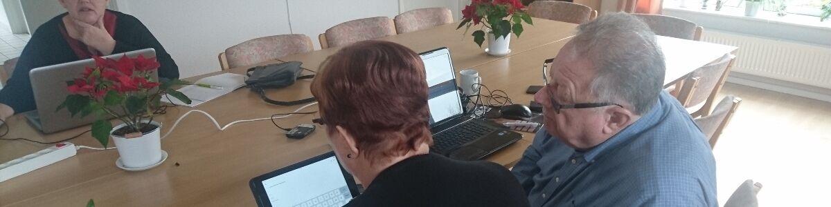 Billede fra en IT-klub