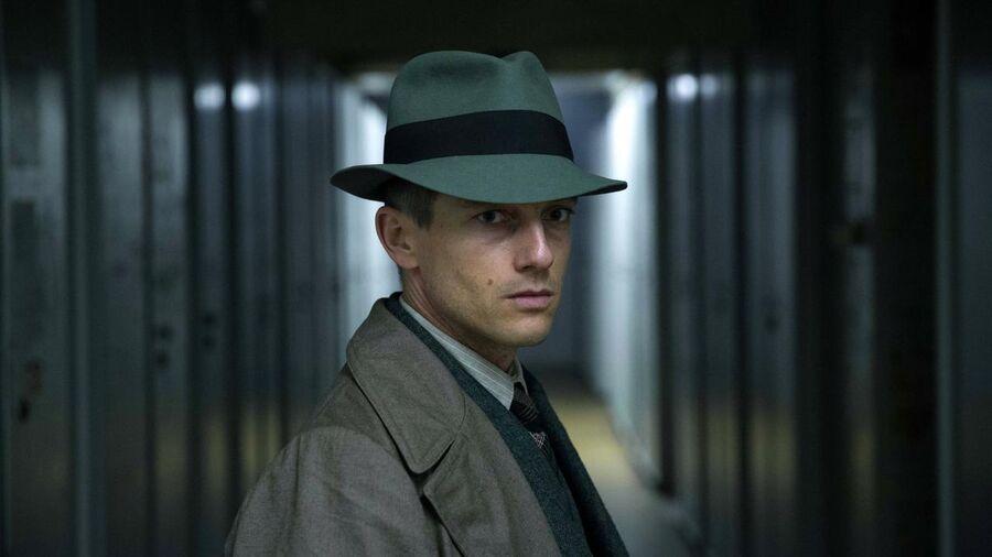 Volker Bruch som Gereon Rath i tv-serien Babylon Berlin