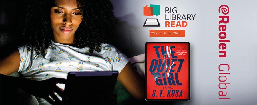 """Læs """"The quiet Girl"""" på eReolen Global"""