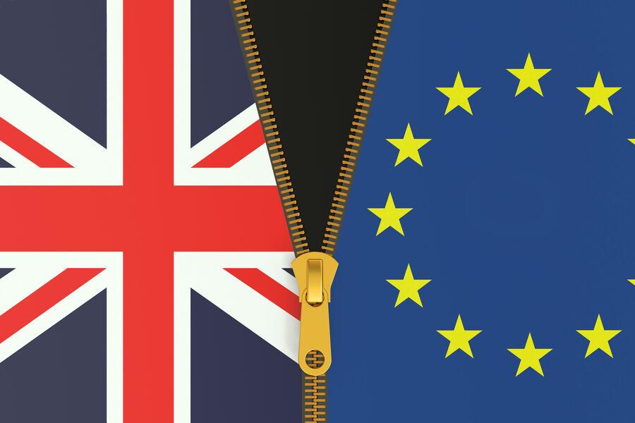 Illustration af brexit
