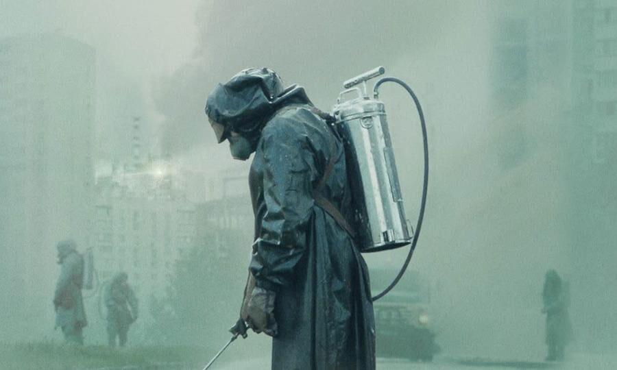 Foto fra atomulykken i Tjernobyl