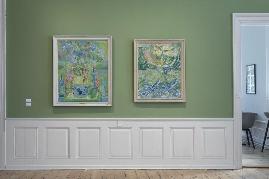 Malerier på Rønnebæksholm udstillingen: Upåagtet