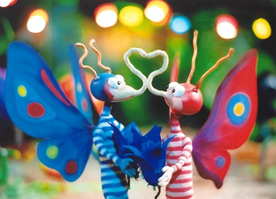 Still fra filmen Den lille sommerfugl