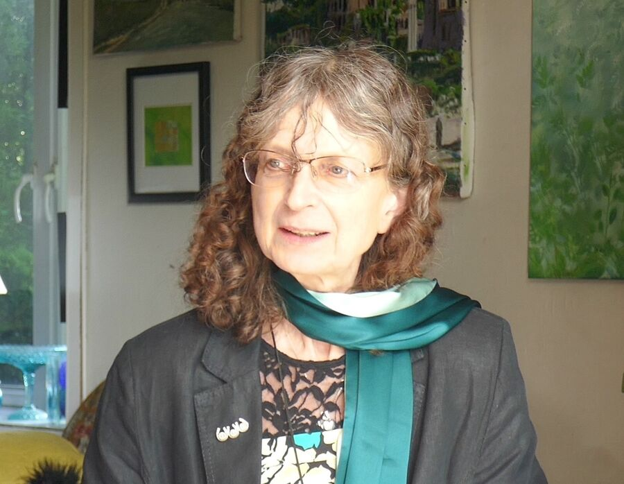 Mød digter Marianne Larsen
