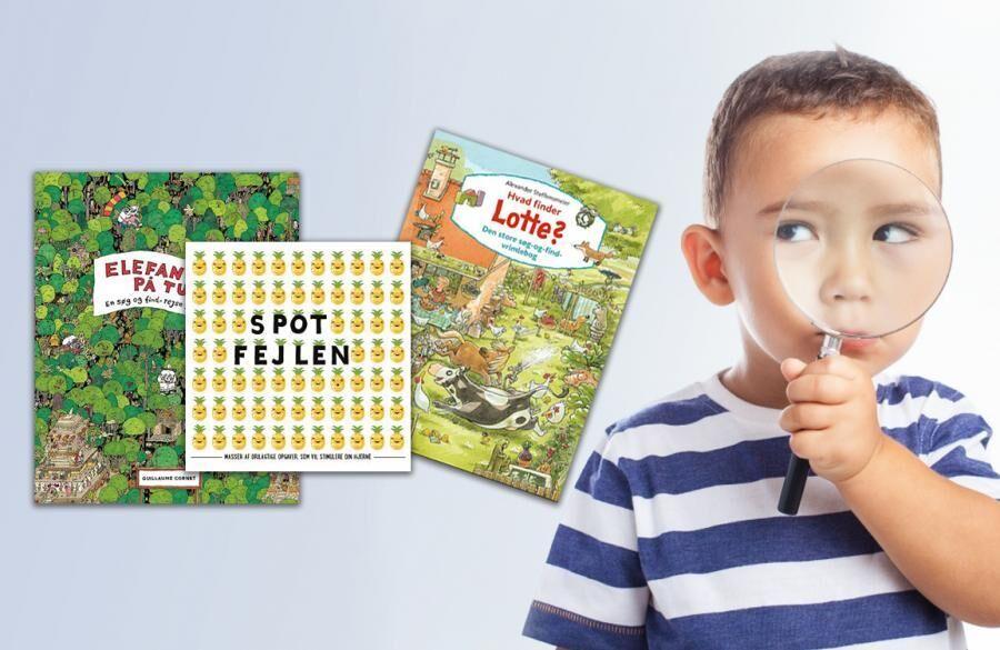 Findebøger til børn