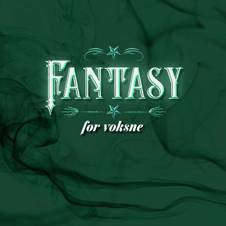 Forside til emneliste om fantasy for voksne
