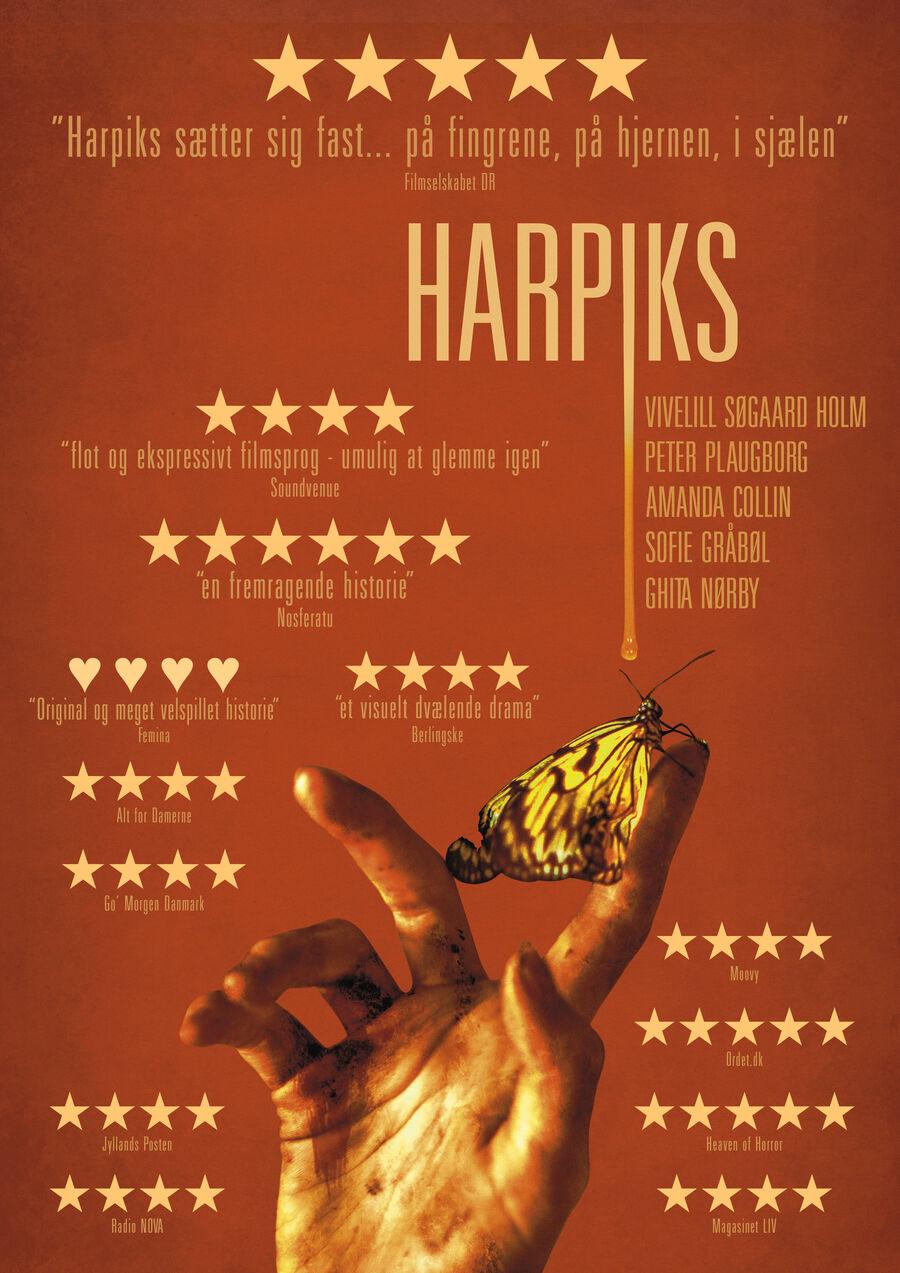 Biografplakat for filmen Harpiks