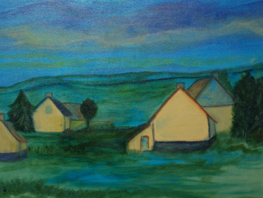 Maleri af Inge Kure