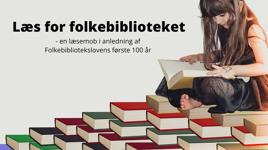 Vi læser for biblioteksloven!