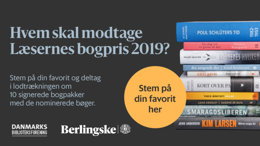 Læsernes Bogpris 2019 logo