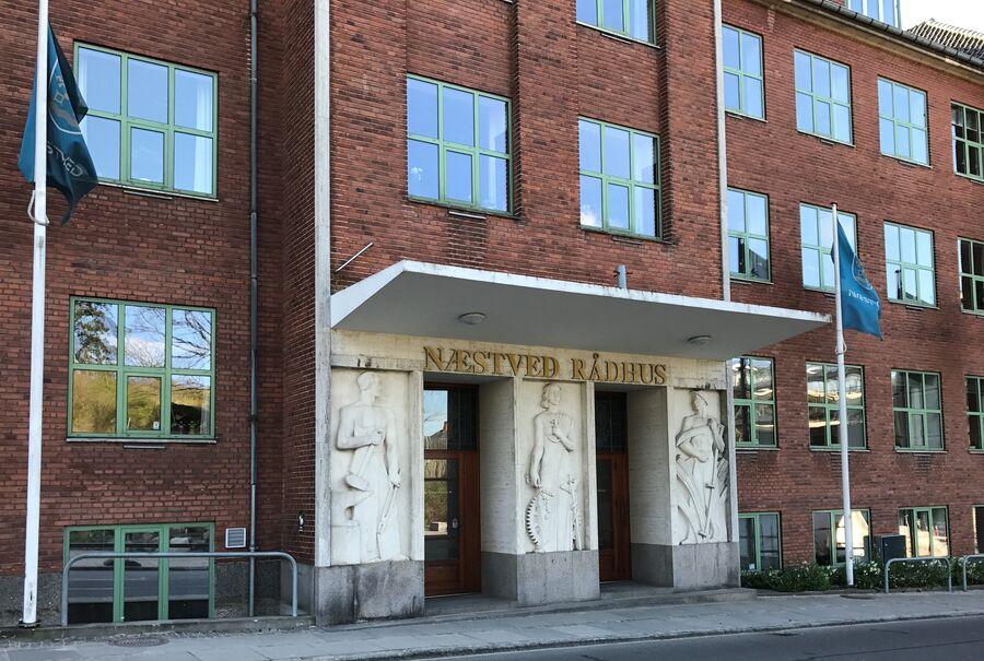 Billede af Næstved Rådhus