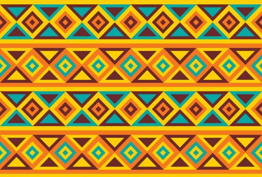 Billede af afrikansk grafik
