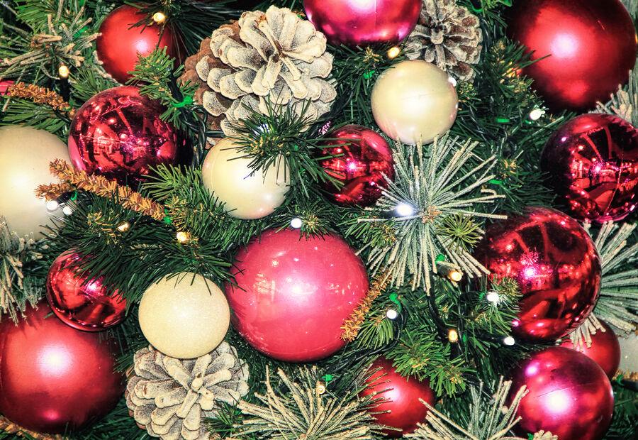 Billede af julepynt