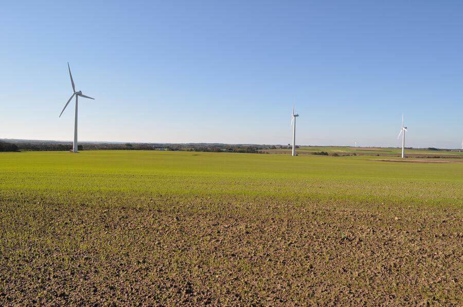 Billede af vindmøller