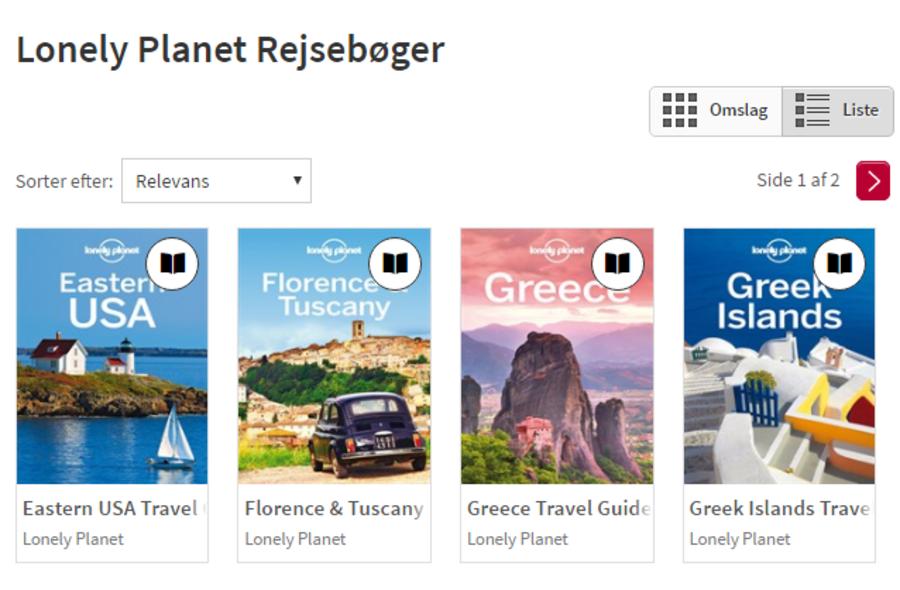 Rejseguides på eReolen Global