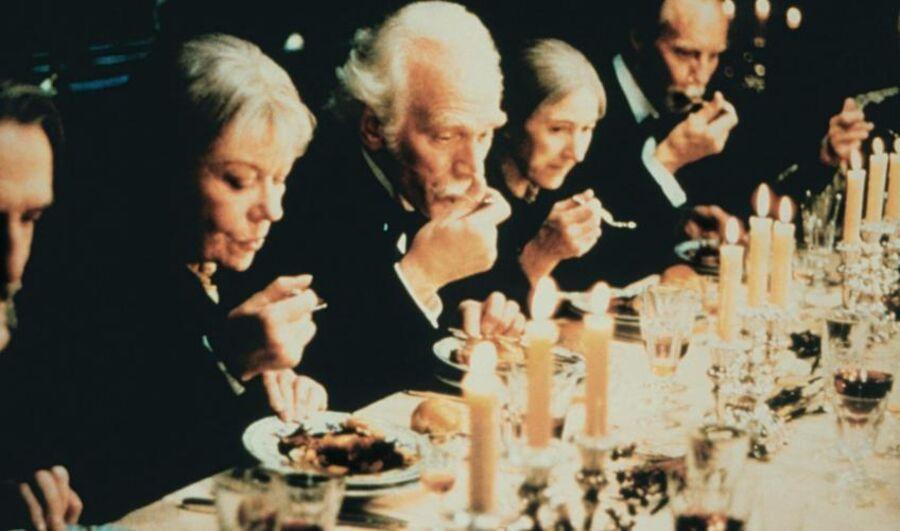 Fra filmen Babettes gæstebud af Gabriel Axel (1987). Foto: Ritzau Scanpix