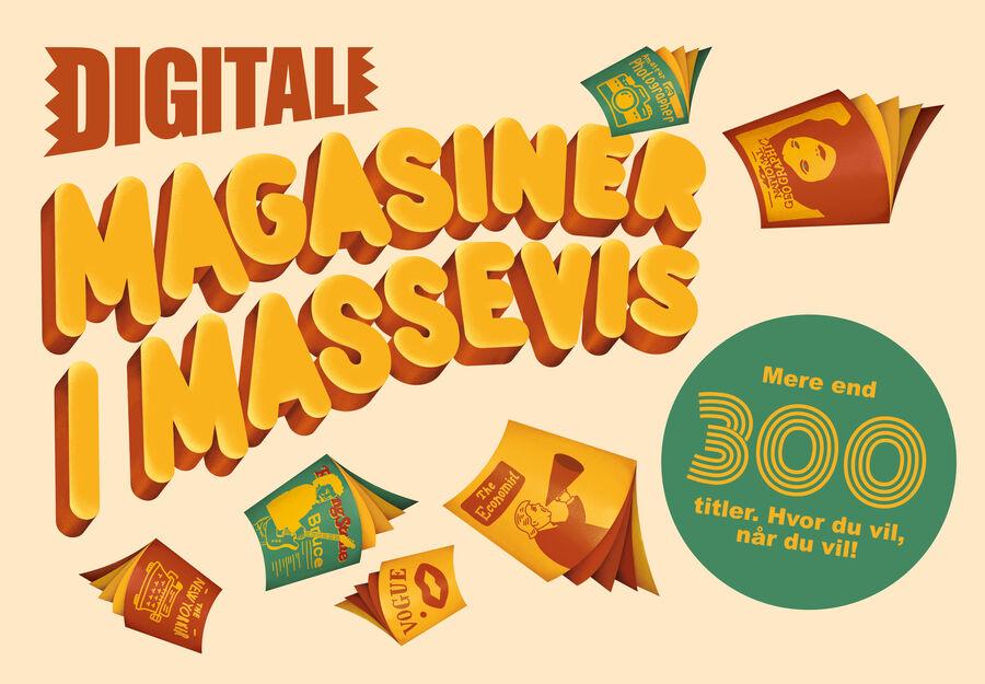 Digitale magasiner i massevis