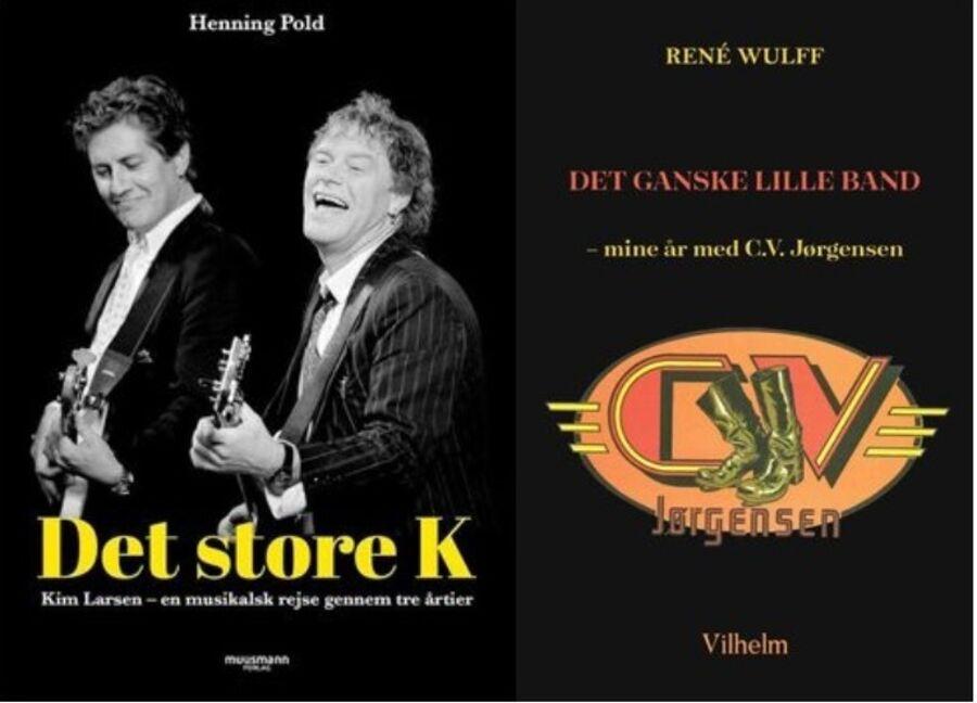 To musikbiografier på lydbog