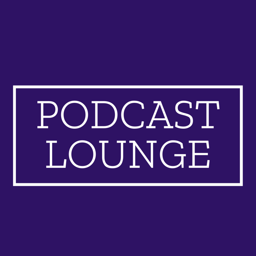 "Logo for ""Podcast Lounge"""