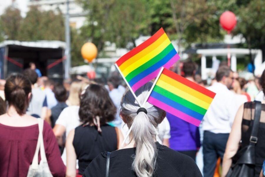 Foto fra Pride arrangement