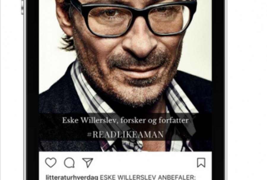 #readlikeaman