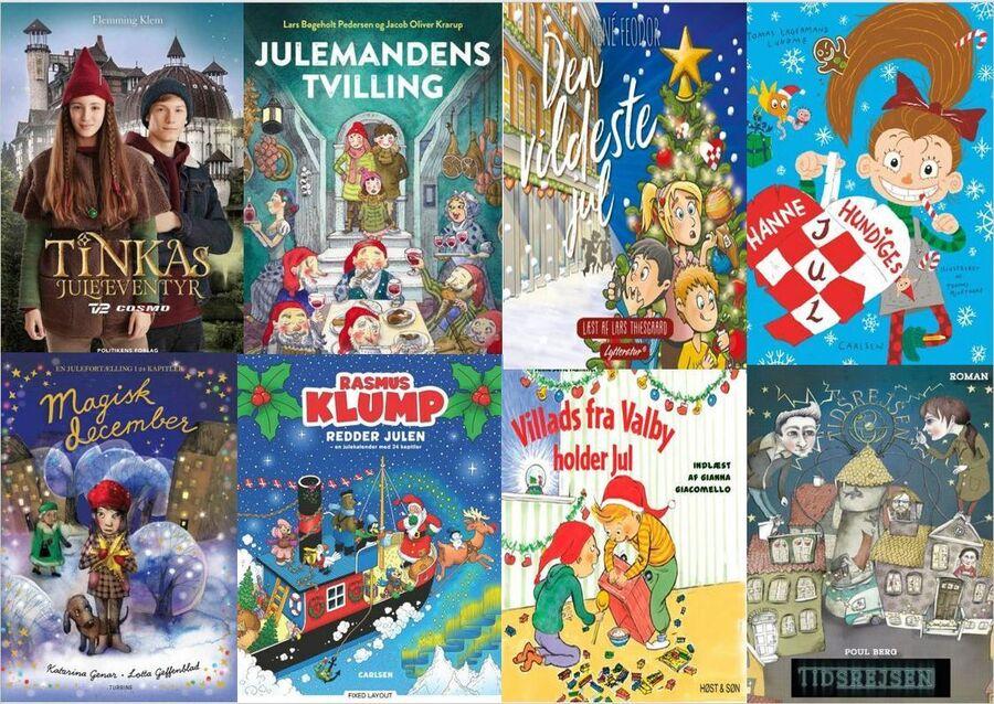 julekalenderbøger