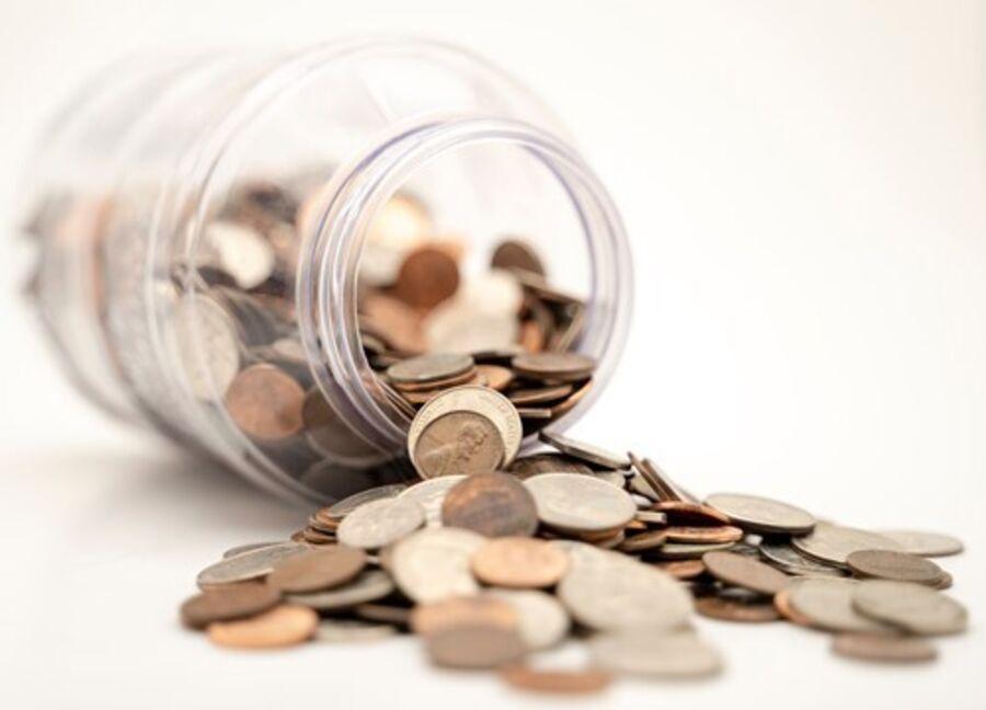 Billede af penge