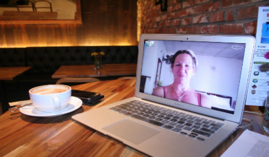 Videosamtaler med familie og venner