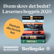 Stem på Læsernes Bogpris 2020